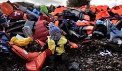 Migranti Bambini ARIS MESSINIS:AFP:Getty Images