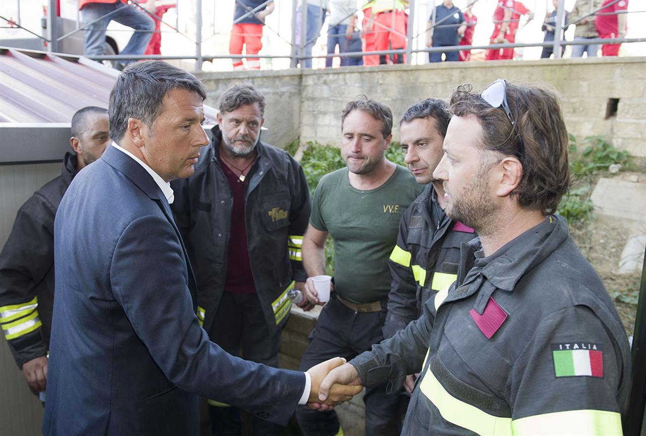 Renzi Terremoto Centro Italia
