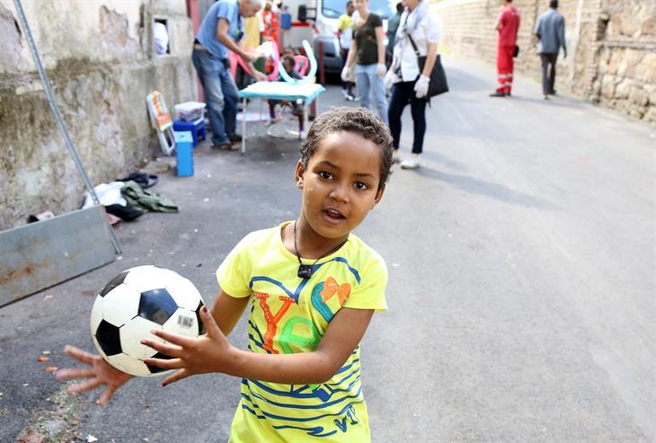 Getty Images Minori Migranti Roma