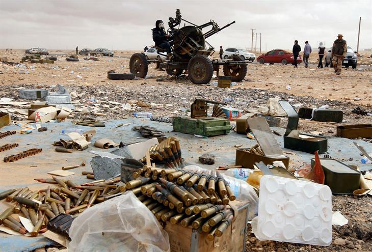 Libia Guerra Civile