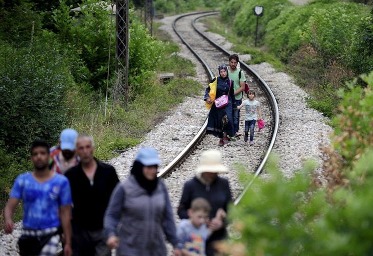 Profughi Siria Balcani Ungheria
