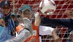 Bambini Siriani Pallone Calcio