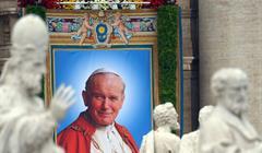 Getty Images Papa Wojtila