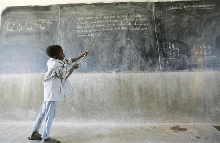 Getty Images Scuola Africa