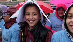 Coro Bambini Scuola MARIO LAPORTA:AFP:Getty Images