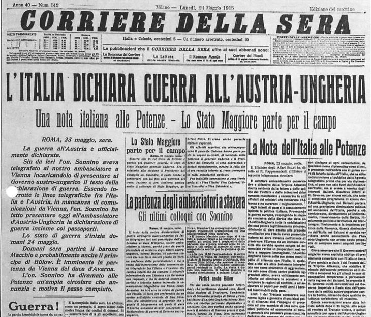24Maggio1915 Corriere