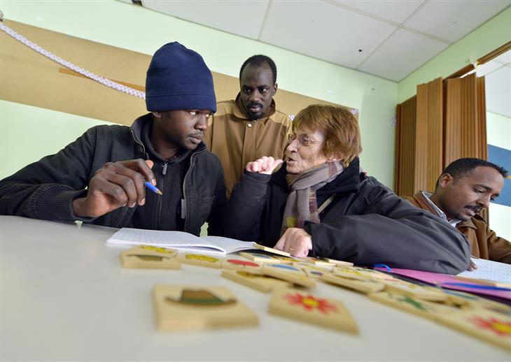 Getty Images Rifugiati A Scuola