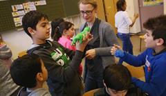 Educatori Scuola Migranti Sean Gallup:Getty Images