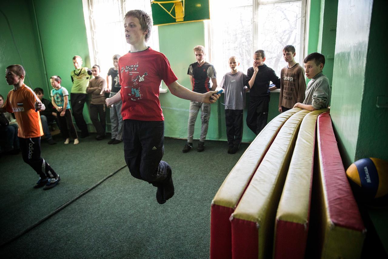 Adozioni Ucraina Andrew Burton:Getty Images
