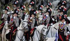 Carabinieri MARCO BERTORELLO:AFP:Getty Images