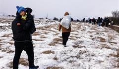 DIMITAR DILKOFF:AFP:Getty Images Migranti Serbia