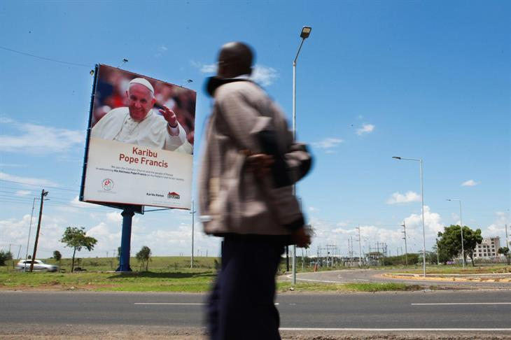 Nairobi Attesa Per Francesco