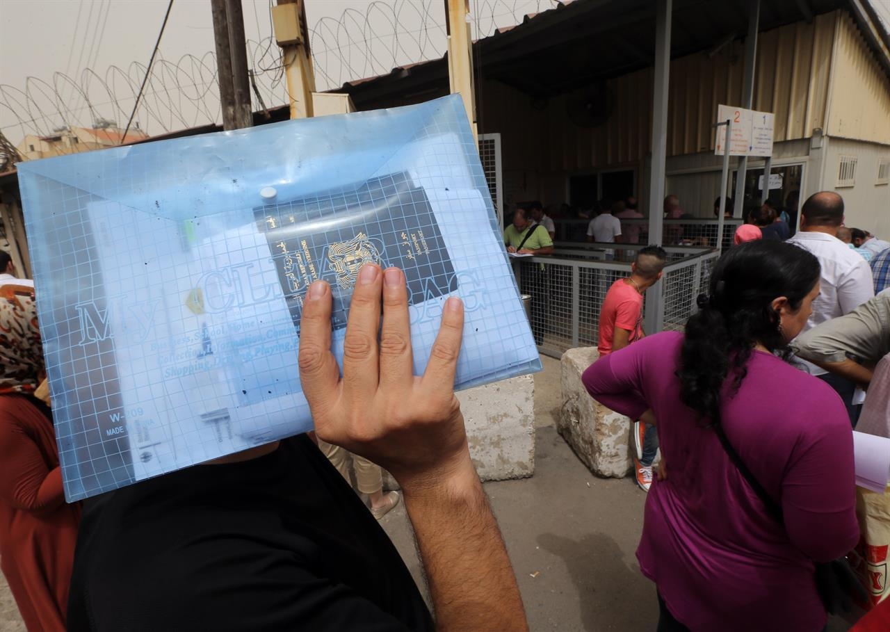 Migranti Libano JOSEPH EID:AFP:Getty Images
