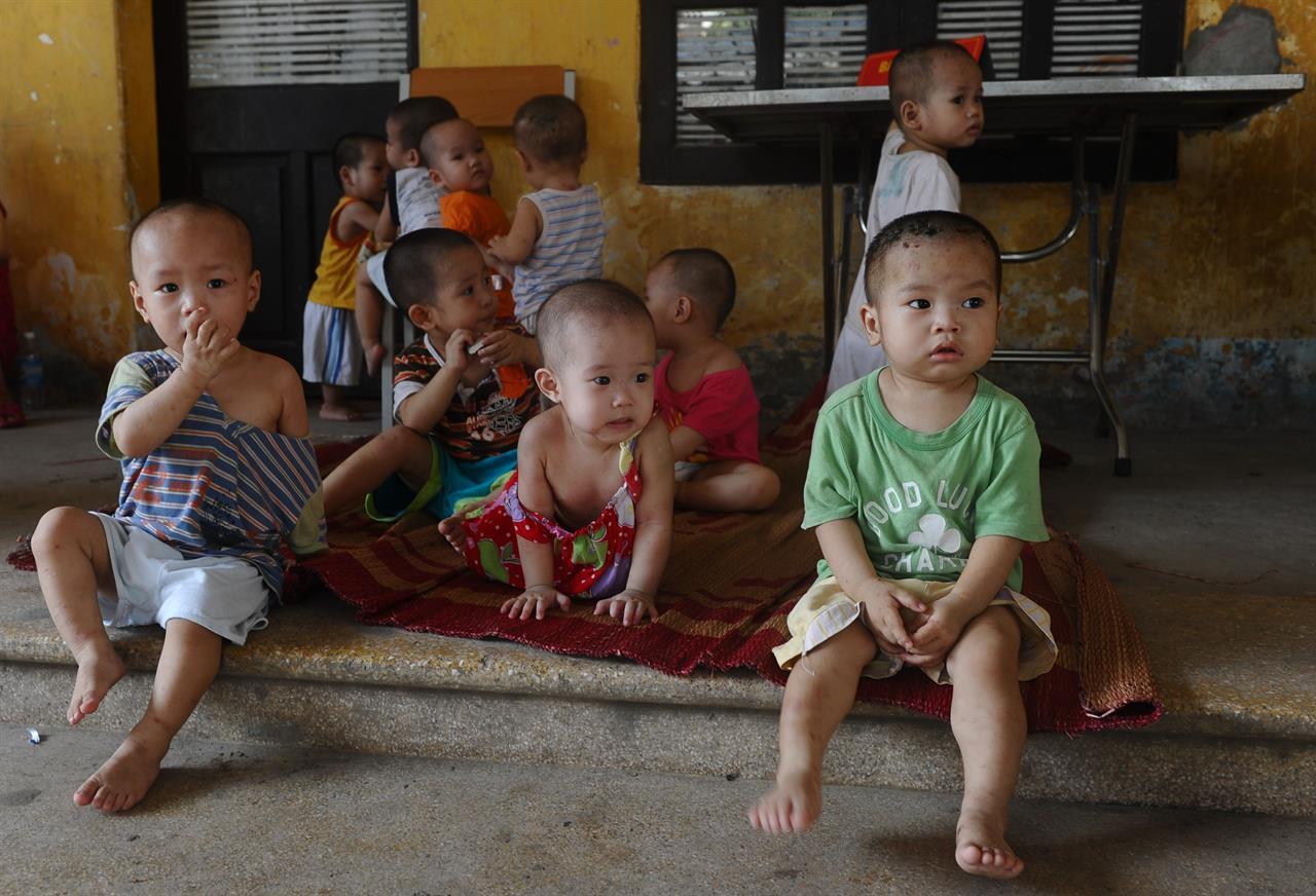 Adozioni Vietnam HOANG DINH NAM:AFP:Getty Images